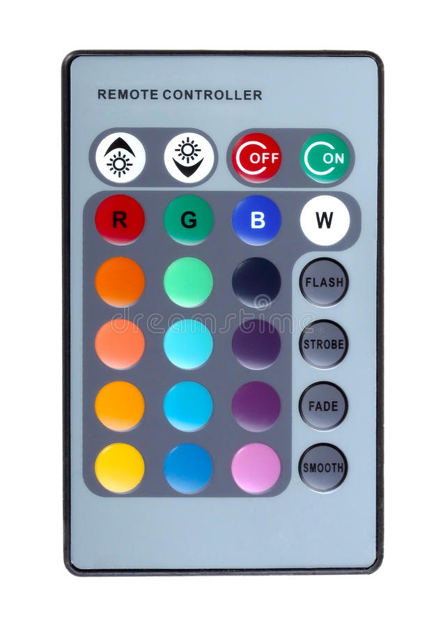 Infrared Remote Control Keyboard Royalty Free Stock Images