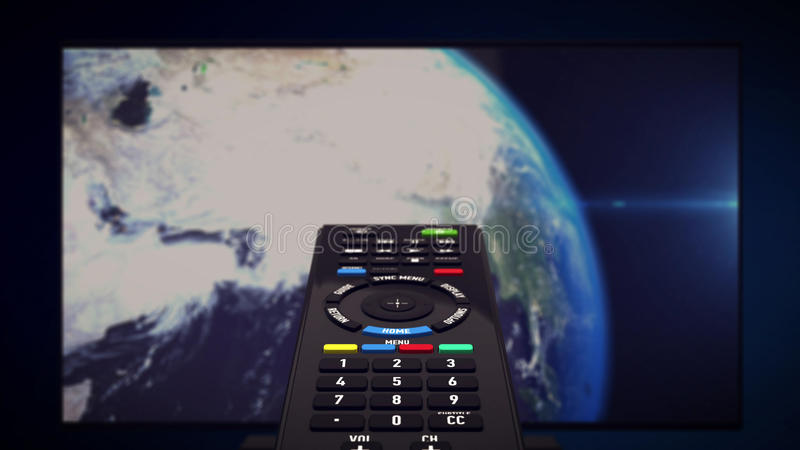InfraRed Remote controller stock illustration