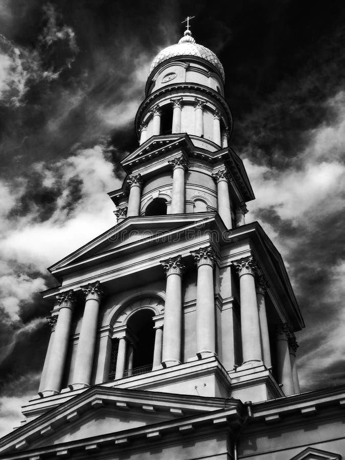 Infrarosso del campanile immagine stock libera da diritti