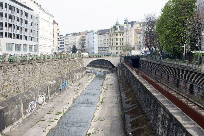 Infrastructure Vienne photographie stock