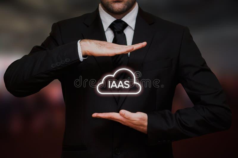 Infrastruktur som en tjänste- IaaS royaltyfria foton