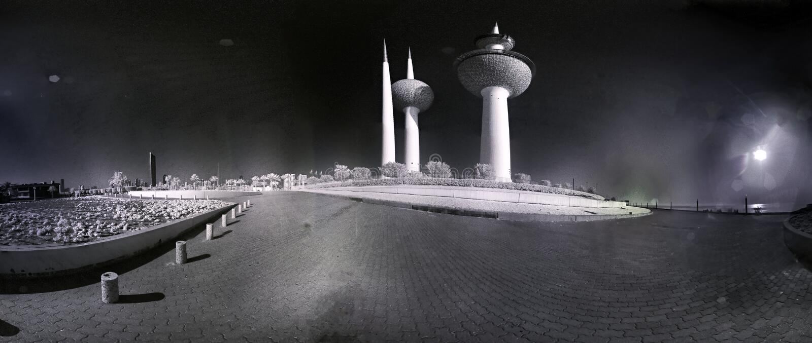 Infrared Towers royalty free stock photography