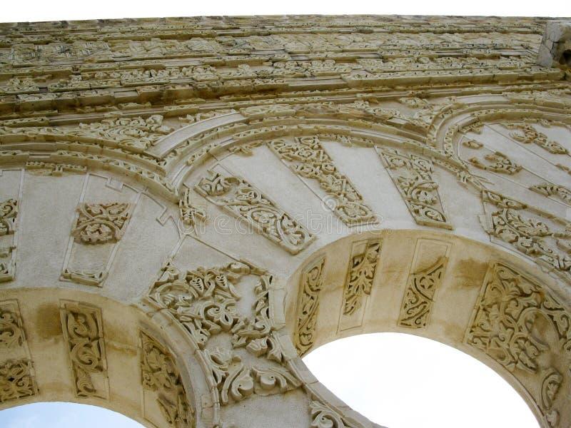 Ingång av det Yafar s huset CÃ-³rdoba spain royaltyfri foto