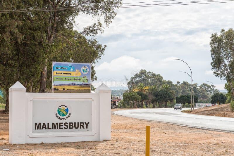Ingång till Malmesbury royaltyfri bild
