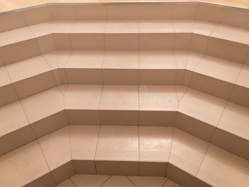 Ingångstrappa, moment av den original- formen arkivfoto