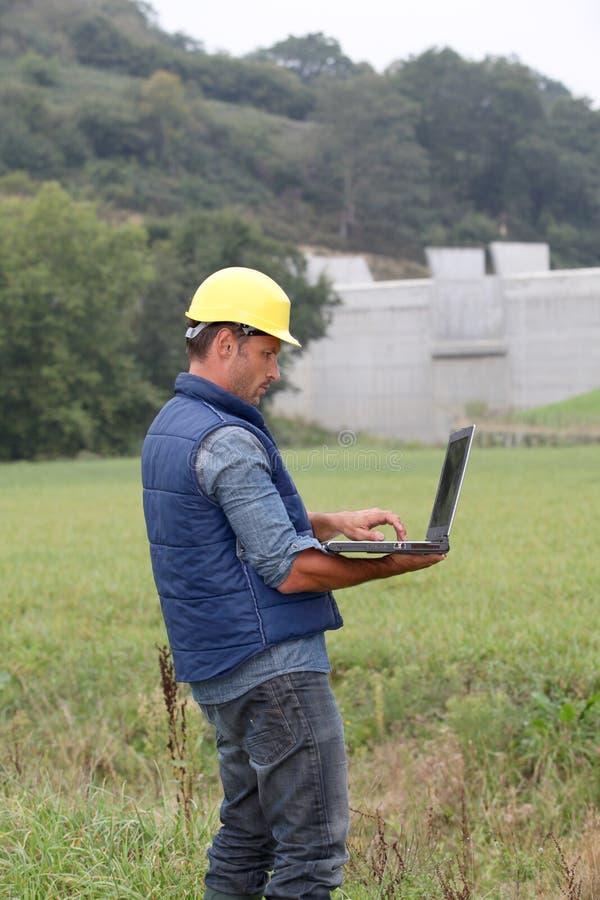 Ingénierie environnementale photographie stock