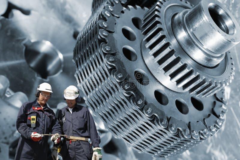 Ingénierie et machines image stock