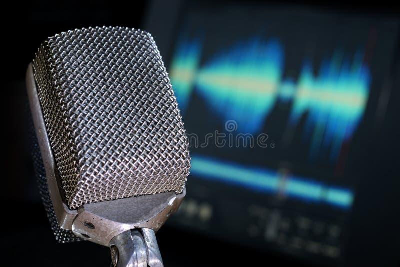 Ingénierie sonore image stock