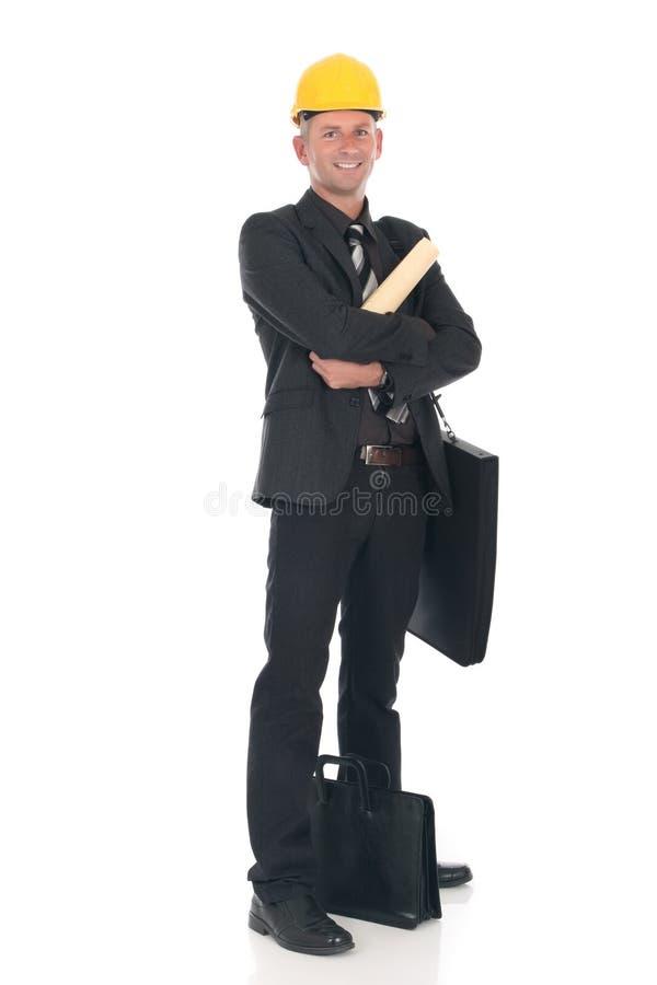 Ingénieur d'homme d'affaires photo stock