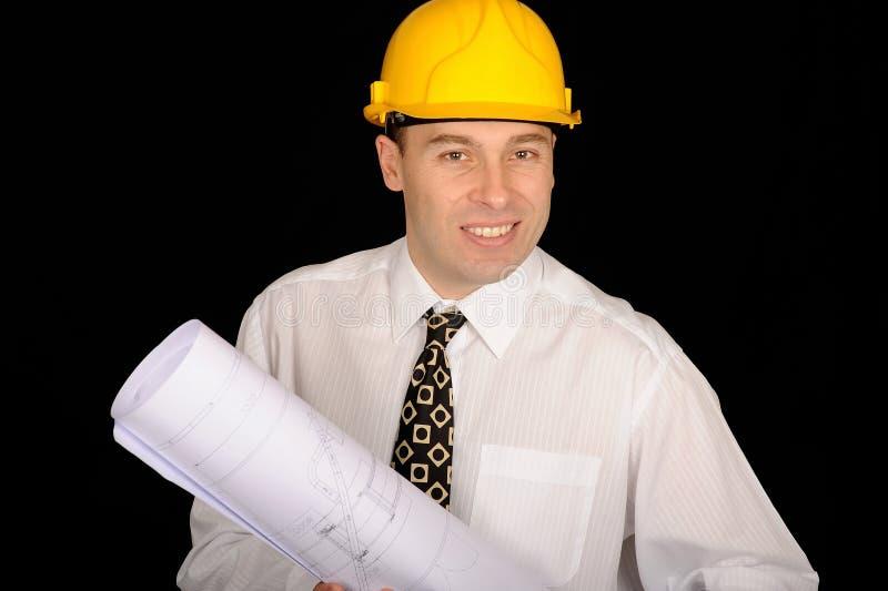 Ingénieur de construction photographie stock libre de droits