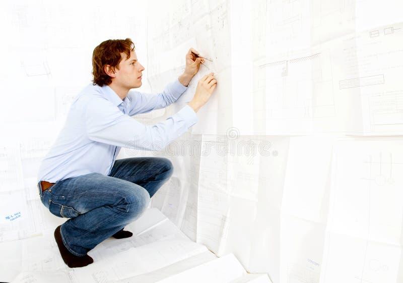 Ingénieur de design industriel photo stock