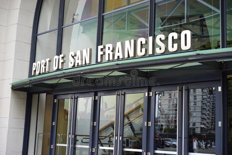 Ingang aan Haven van San Francisco stock foto's