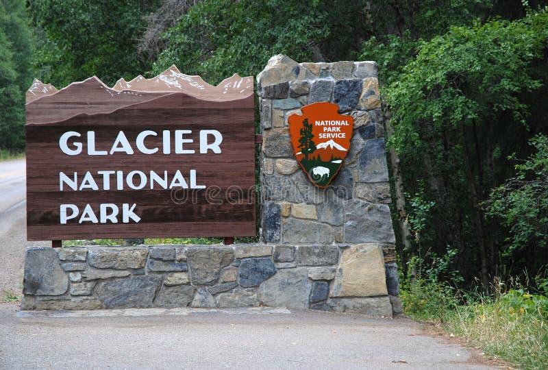 Het Nationale Park van de gletsjer, Montana, de V.S. royalty-vrije stock fotografie