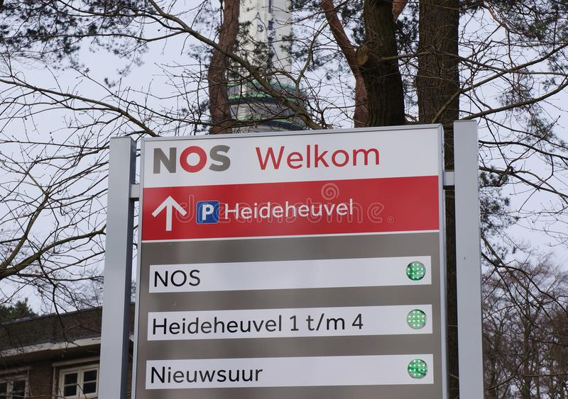 Ingang aan nrs. die Nederland inbouwen royalty-vrije stock foto's