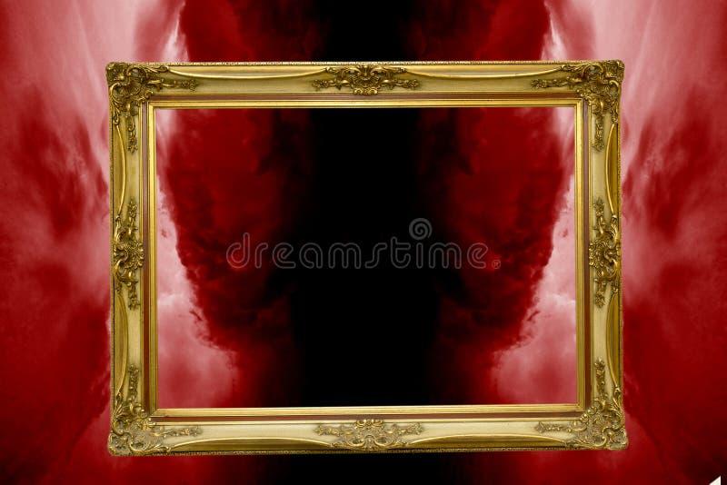 Ingang binnen aan de hel royalty-vrije stock afbeelding