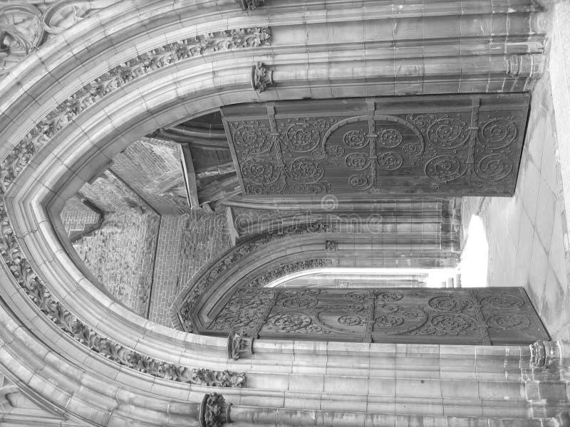 Ingang I Van De Kerk Royalty-vrije Stock Fotografie