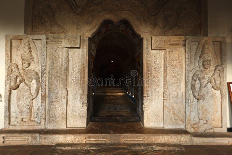 Ingang van Tempel van de Tand. stock foto