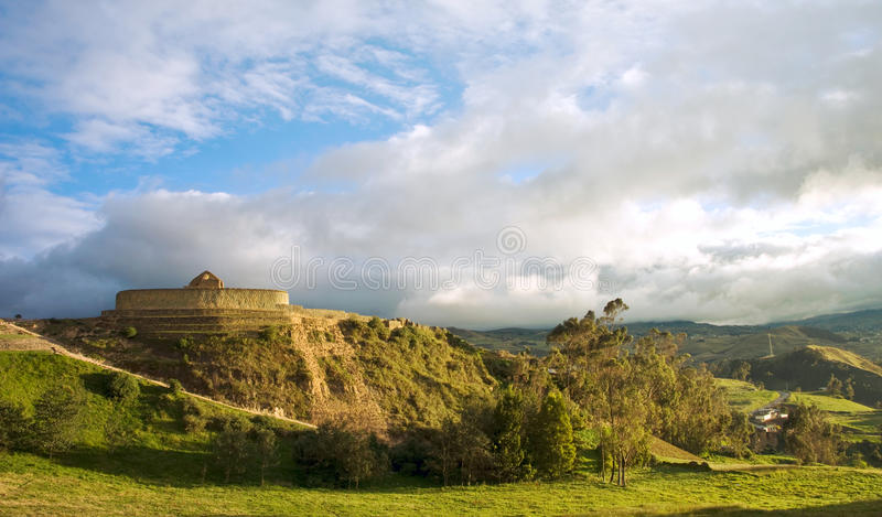 Ingapirca, Ισημερινός στοκ φωτογραφία με δικαίωμα ελεύθερης χρήσης