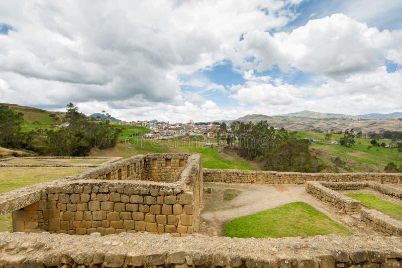 Ingapirca, Ecuador lizenzfreie stockfotos