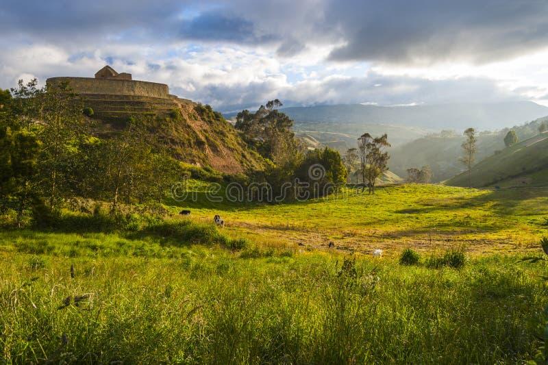 Ingapirca, Ekwador fotografia royalty free