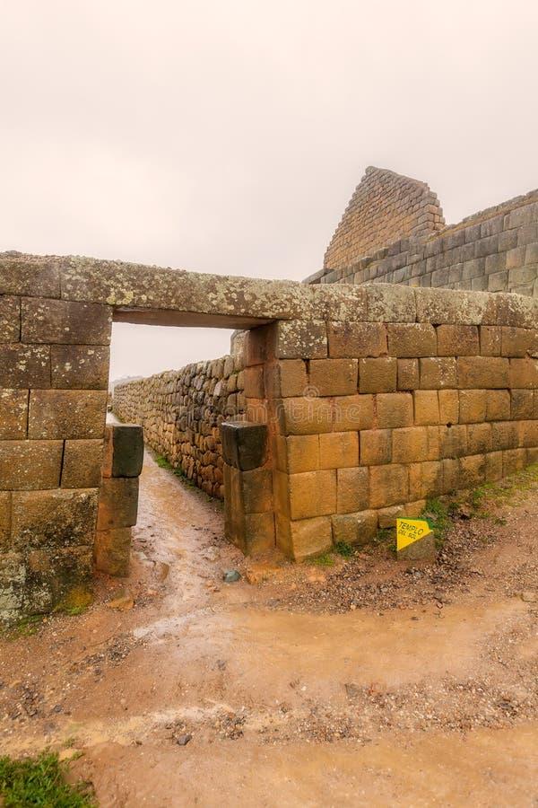 Ingapirca, Inca City, province de Canar photographie stock