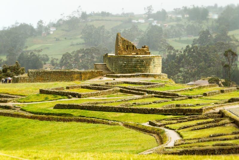 Ingapirca Inca Ruins In Ecuador photographie stock libre de droits