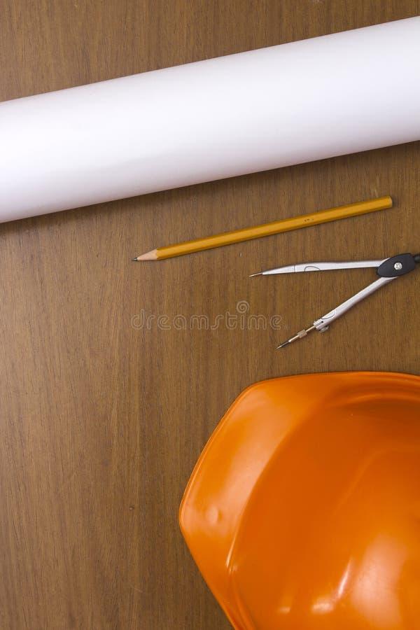 Ingegnere Construction Accessories immagine stock libera da diritti