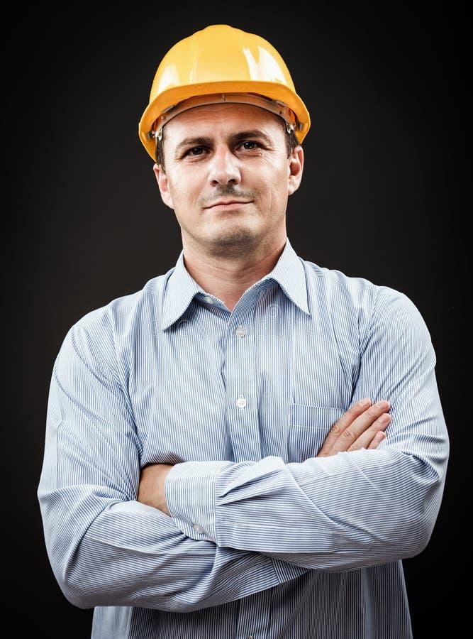 Ingegnere di costruzione immagine stock