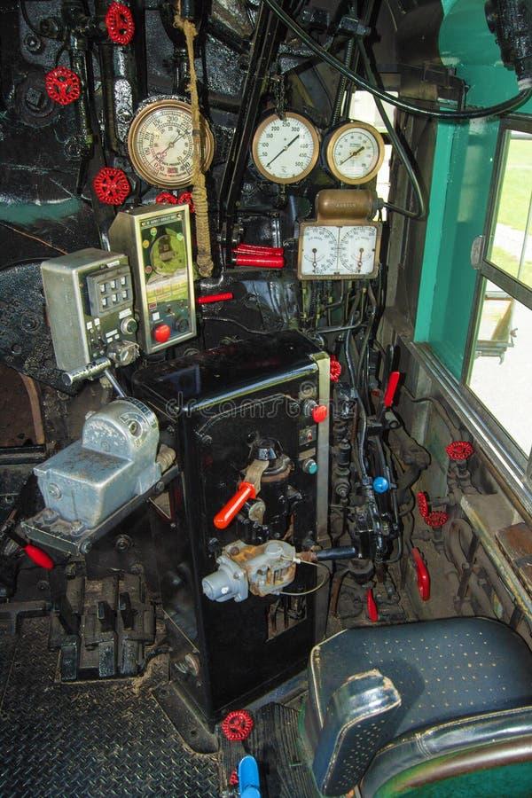 Ingegnere Seat Chesapeake e motore 614 dell'Ohio fotografia stock