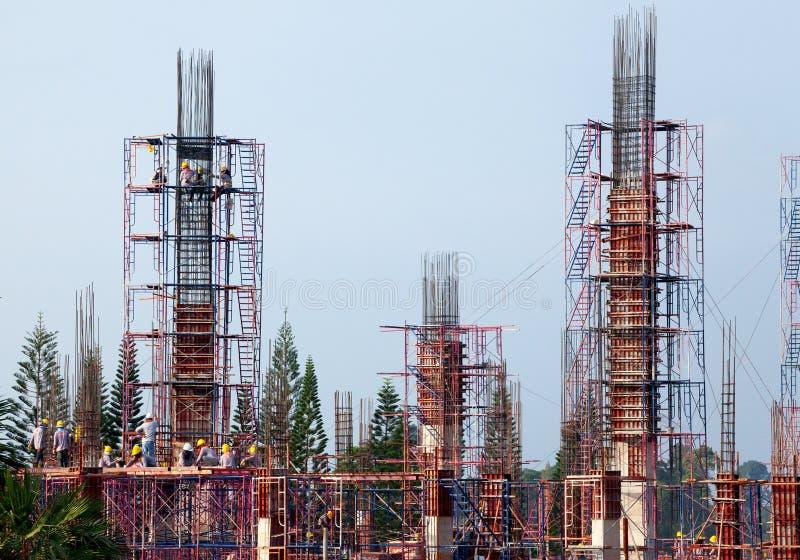 Ingegneria della costruzione di edifici fotografia stock libera da diritti