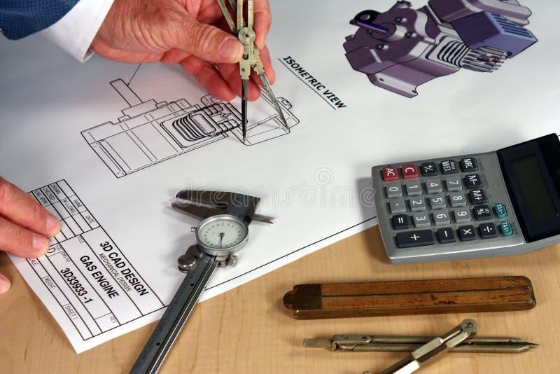 Ingegneria meccanica fotografia stock