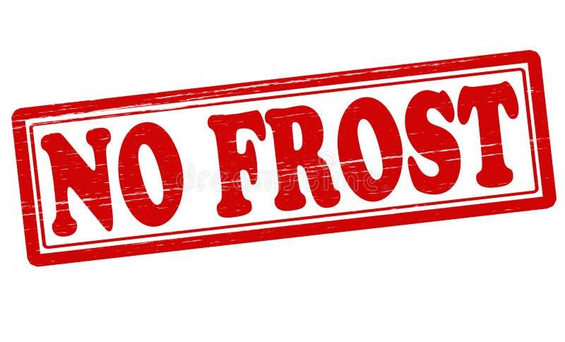 Ingen frost vektor illustrationer
