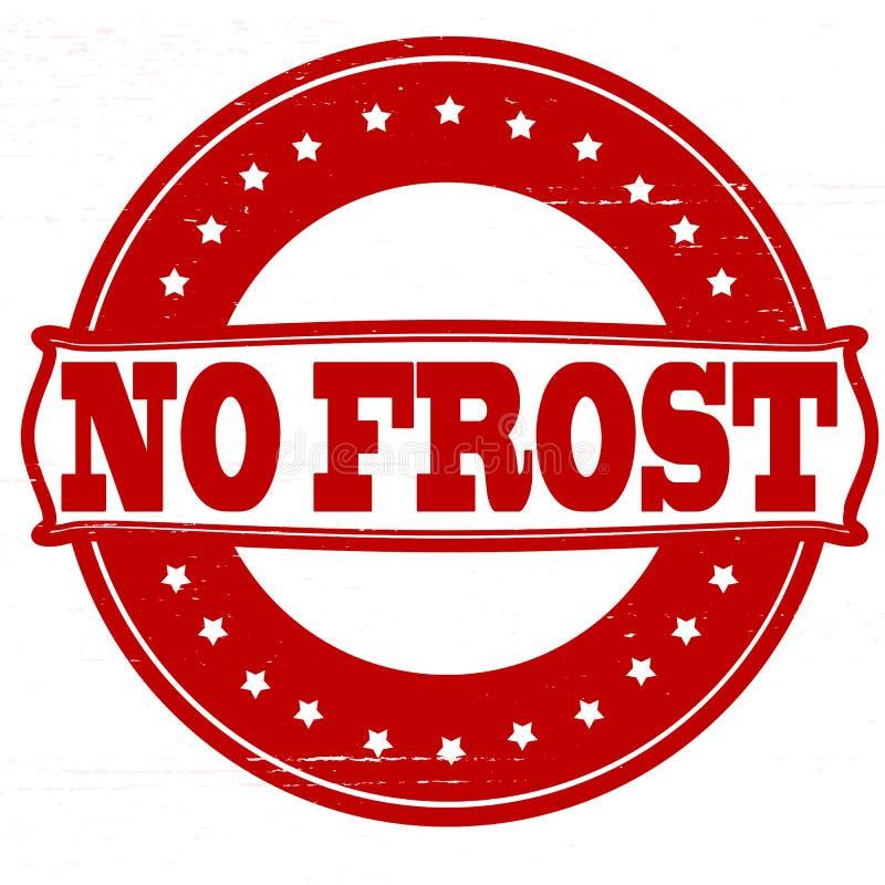Ingen frost royaltyfri illustrationer
