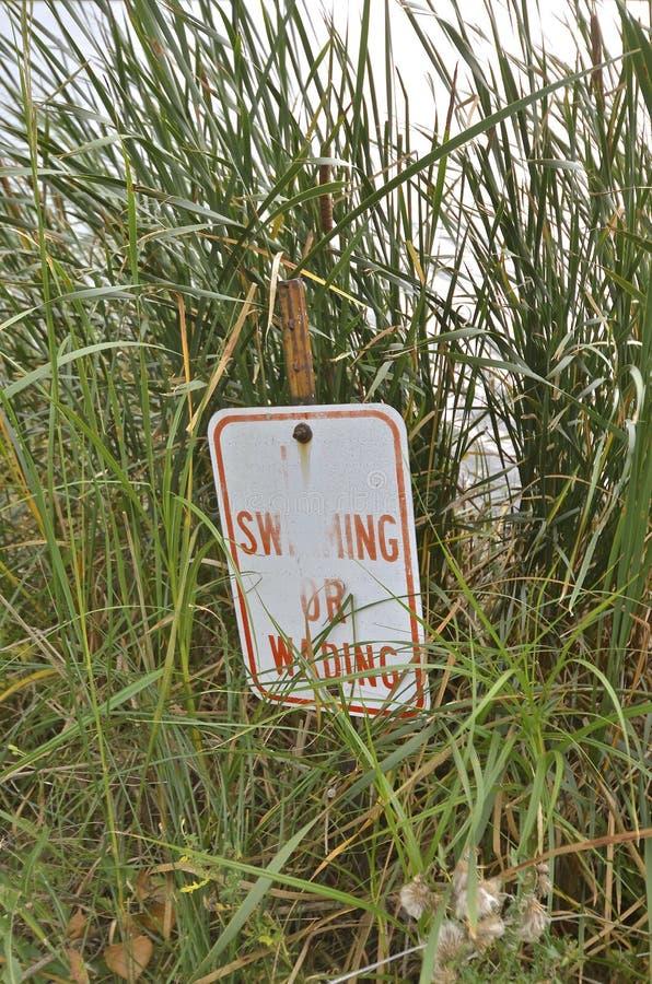 Ingen simning undertecknar arkivfoto