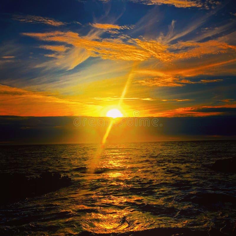 Ingen solnedgång 5 royaltyfri fotografi