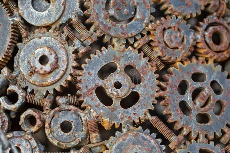 Ingeniería de acero del engranaje del metal imagen de archivo