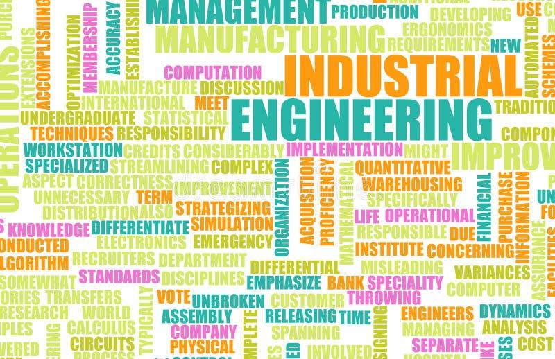 Ingeniería industrial stock de ilustración