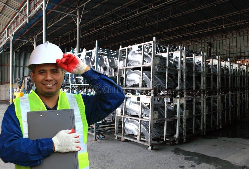 Ingeniero asiático de Potrait imagen de archivo
