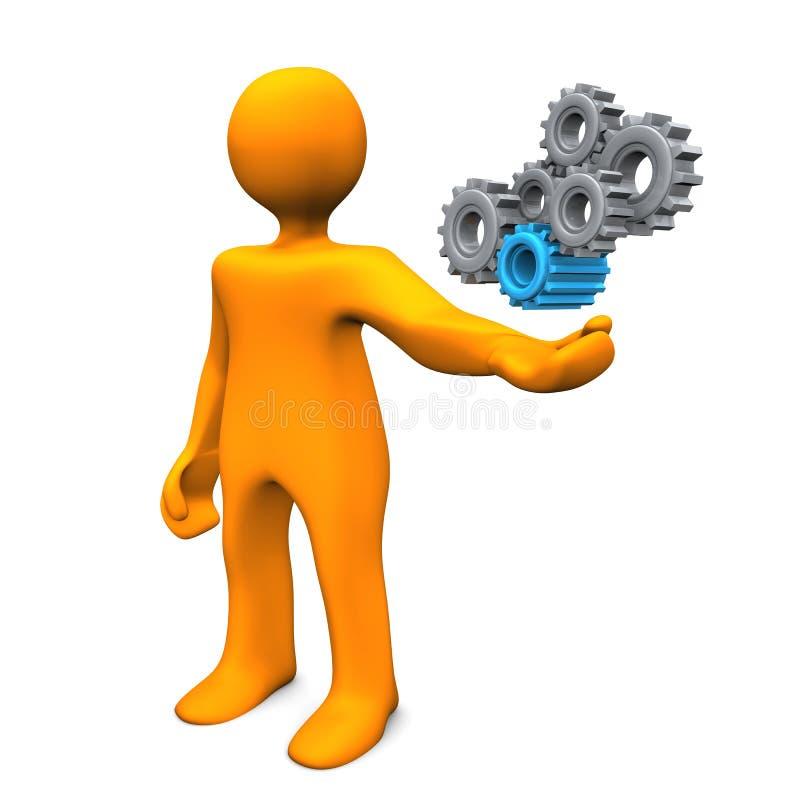 Ingeniero industrial libre illustration
