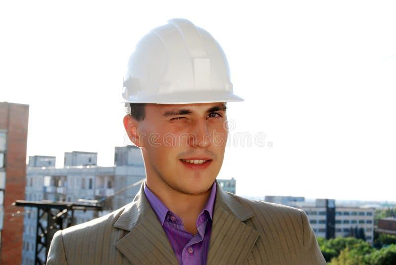 Ingenieur. lizenzfreies stockbild