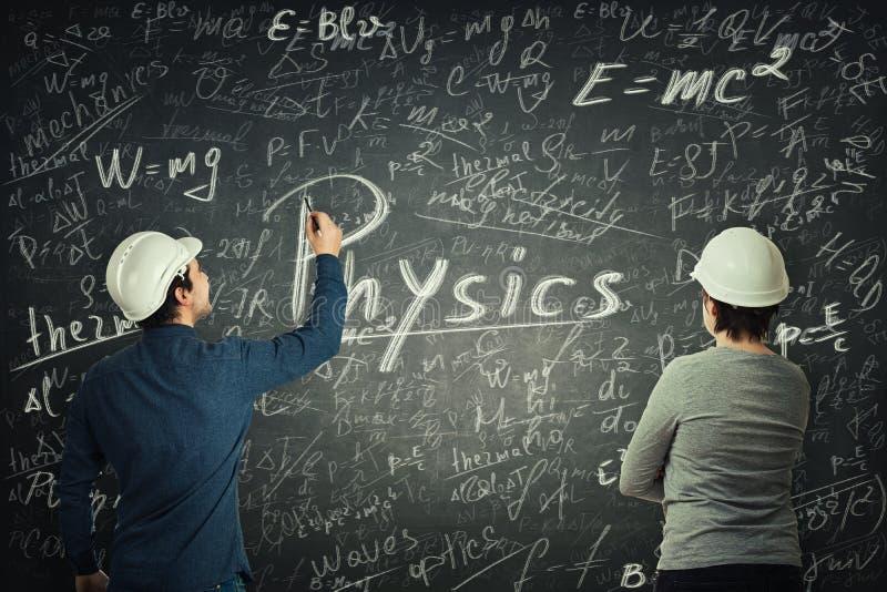 Ingenieuranteilwissen stockfoto