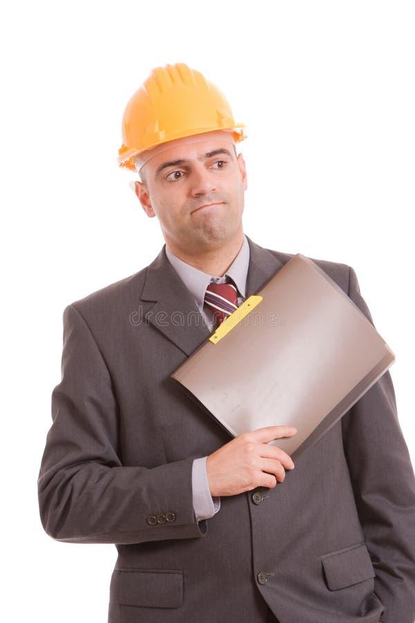 Ingenieuraufstellung stockbilder