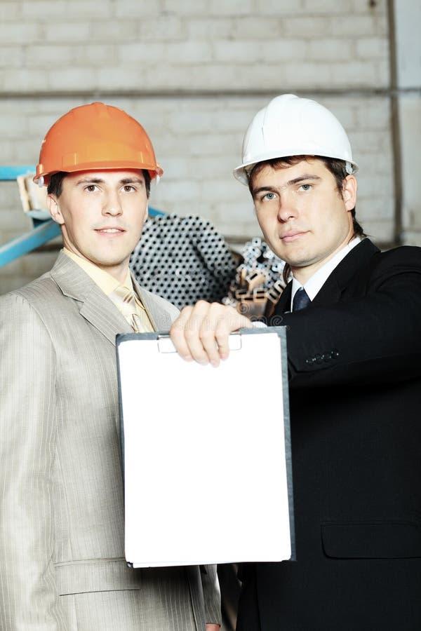 Ingenieurs royalty-vrije stock afbeelding