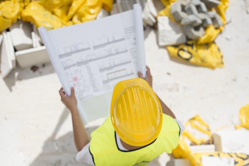 Ingenieursbouwers stock foto's