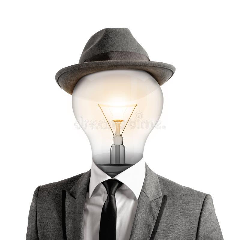 Ingenieus hoofd stock fotografie