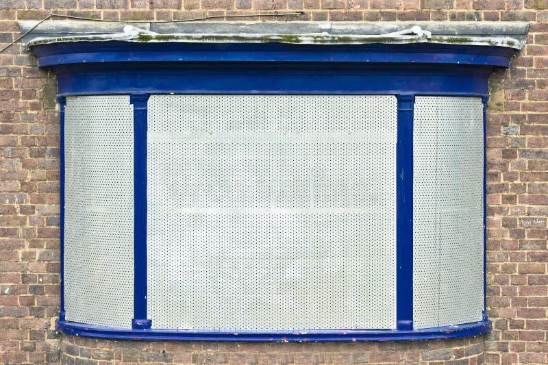 Ingescheept op venster royalty-vrije stock foto's