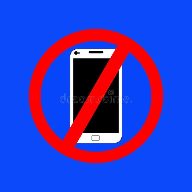 Inget bruk av mobiltelefoner fotografering för bildbyråer