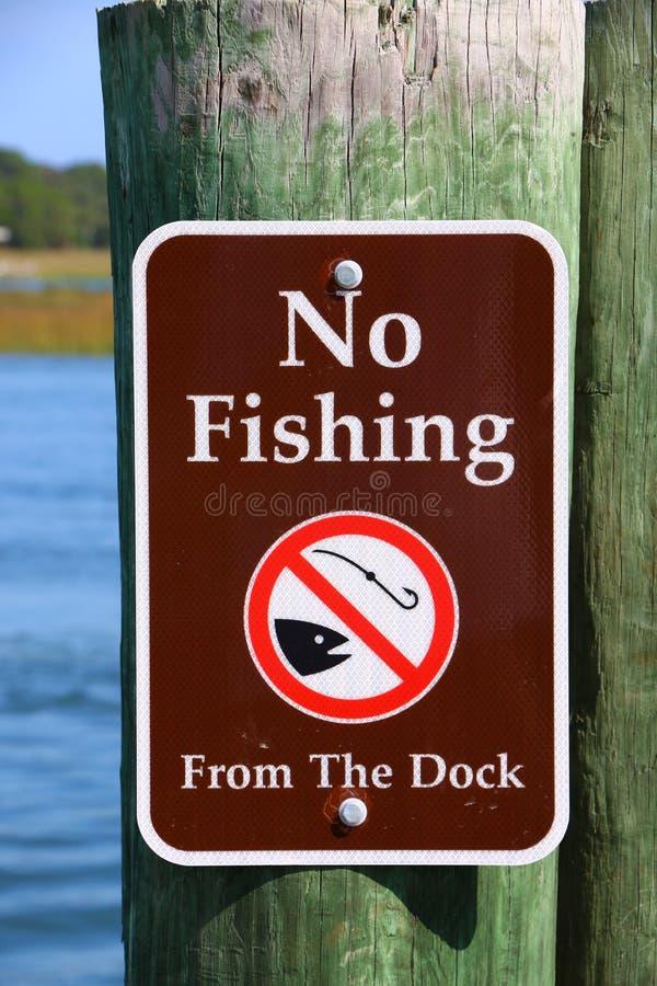 Inget fiske arkivbilder