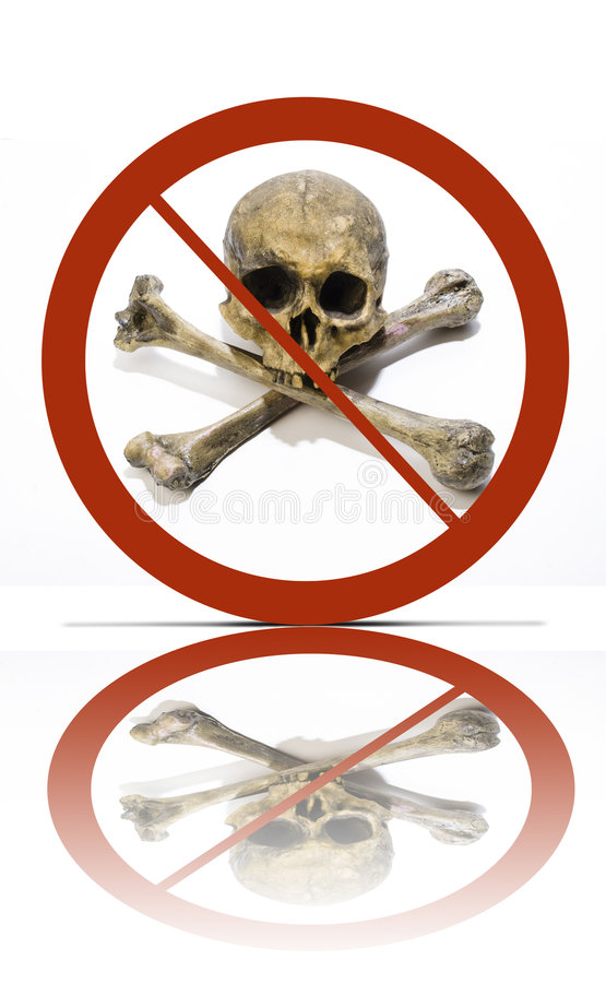 inget piratkopieringsymbol royaltyfri bild