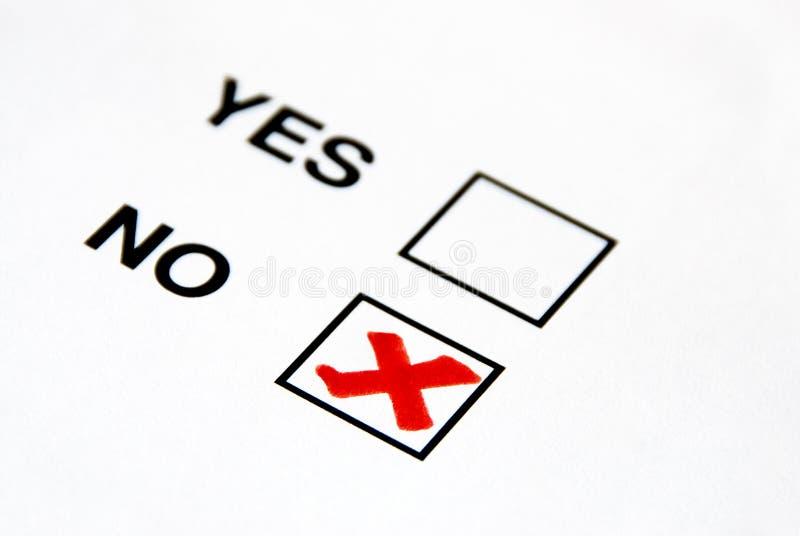 inget rösta arkivfoton